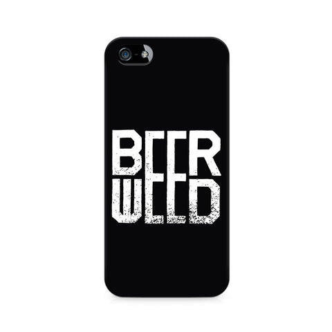 BeerWeed Premium Printed iPhone 4/4S Case