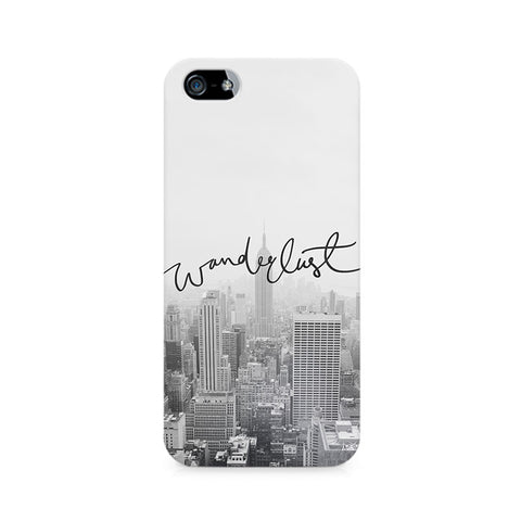 Wanderlust Premium Printed iPhone 5/5S Case
