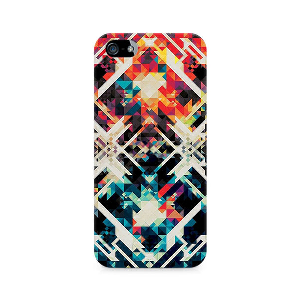 Two Square Abstract Premium Printed iPhone 5/5S Case