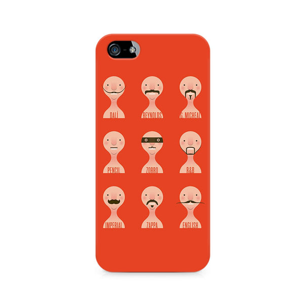 Types of Beard Premium Printed iPhone 5/5S Case