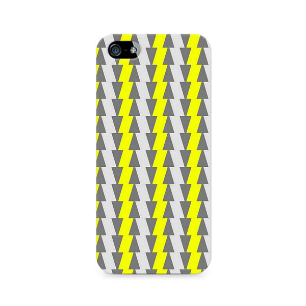 Yellow and White Cards Premium Printed iPhone 5/5S Case