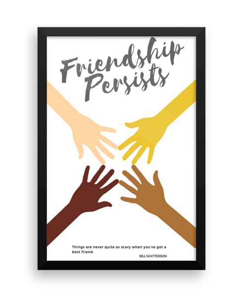 Friendship Wall Poster