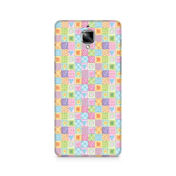 Abtract Heart Fusion Premium Printed OnePlus 3 Case