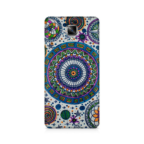 Abstract Colorful Premium Printed OnePlus 3 Case