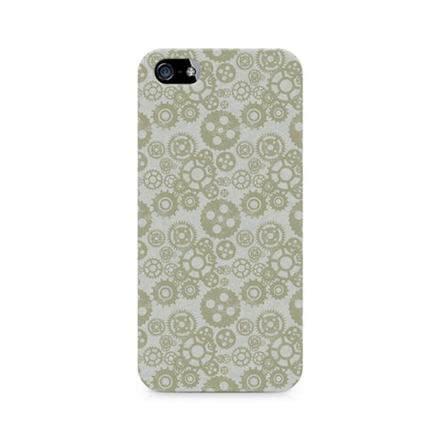 Vintage Gears Premium Printed iPhone 5/5S Case