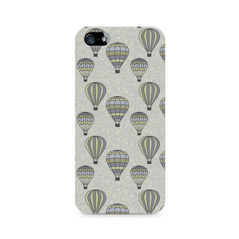 Vintage Hot Air Balloons Premium Printed iPhone 5/5S Case