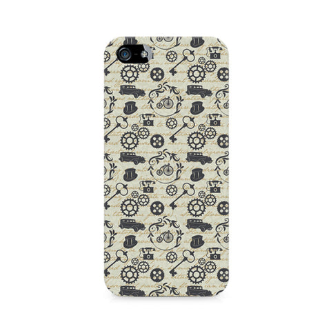 Vintage Machinery Premium Printed iPhone 5/5S Case