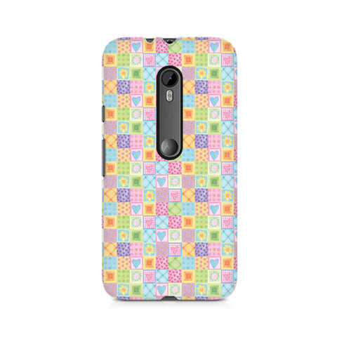 Abtract Heart Fusion Premium Printed Moto X Play Case