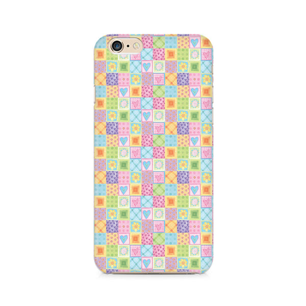 Abtract Heart Fusion Premium Printed iPhone 6/6S Case