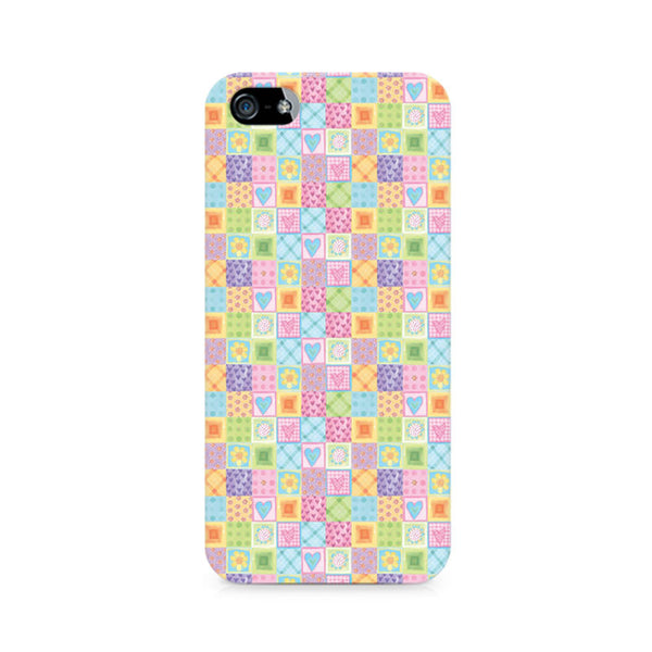 Abtract Heart Fusion Premium Printed iPhone 4/4S Case