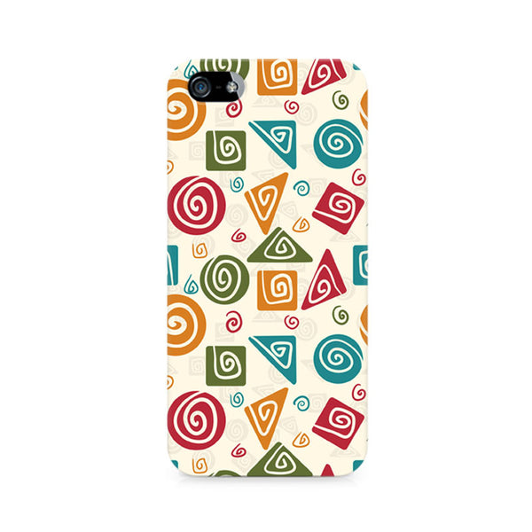 Tribal Geometric Fusion Premium Printed iPhone 5/5S Case