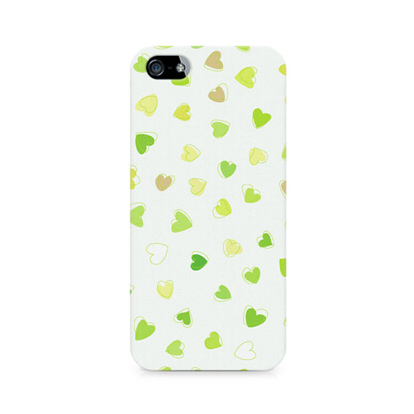 Watercolor Hearts Premium Printed iPhone 5/5S Case