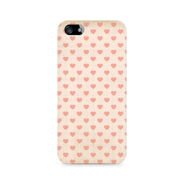 Vintage Heart Premium Printed iPhone 5/5S Case
