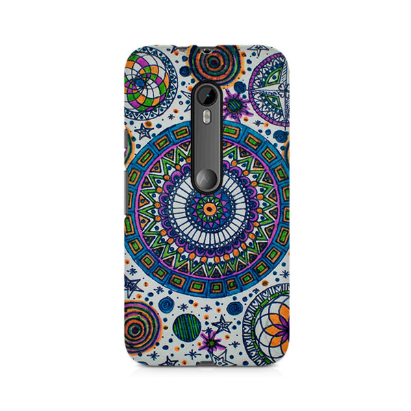 Abstract Colorful Premium Printed Moto X Play Case