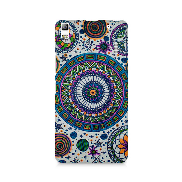 Abstract Colorful Premium Printed Lenovo A7000 Case