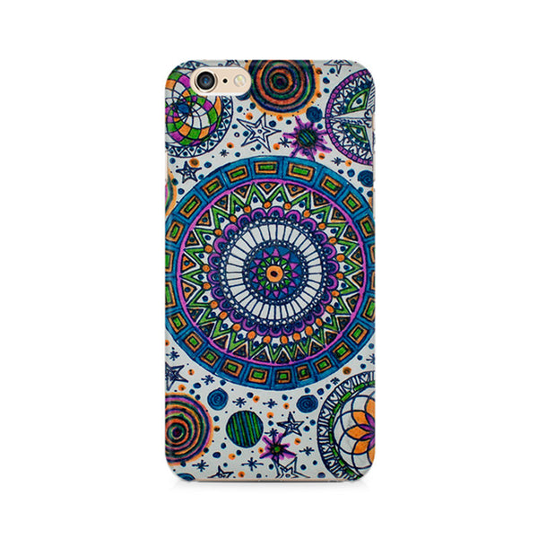 Abstract Colorful Premium Printed iPhone 6/6S Plus Case