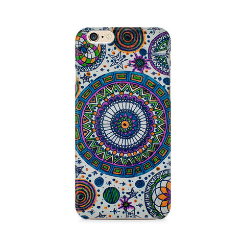 Abstract Colorful Premium Printed iPhone 6/6S Case