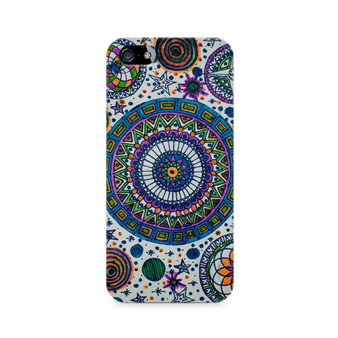 Abstract Colorful Premium Printed iPhone 4/4S Case