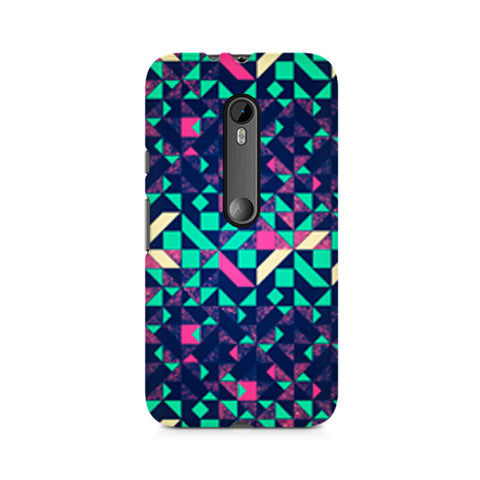 Abstract Wookmark Premium Printed Moto X Play Case