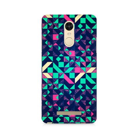 Abstract Wookmark Premium Printed Xiaomi Redmi Note 3 Case