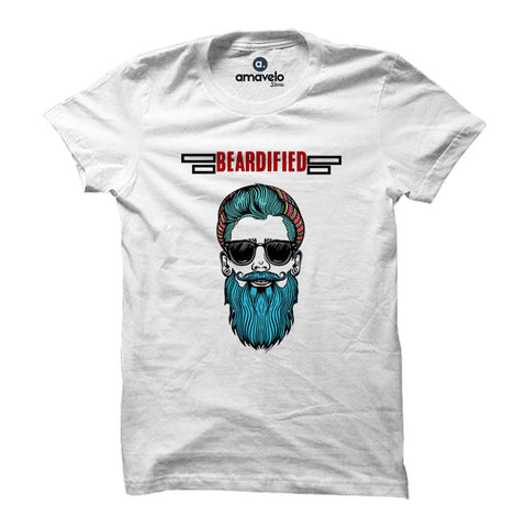 Beardified Round Neck T-Shirt