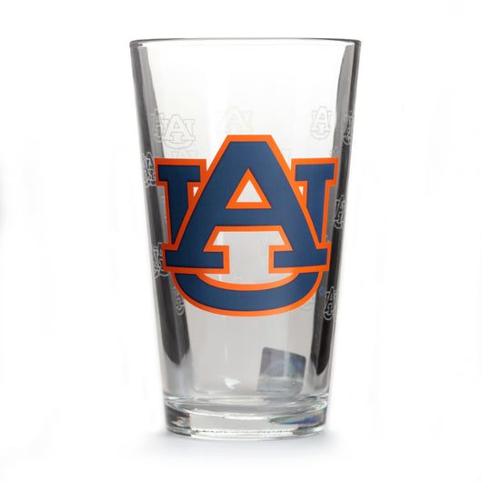 Auburn Satin Etch Pint Glass