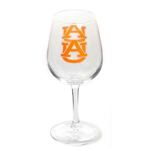 Auburn Gameday Wine Glass 12oz