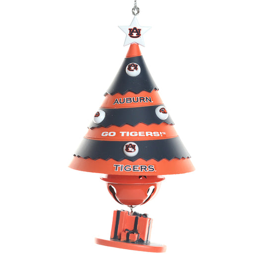 Auburn Tree Bell Ornament