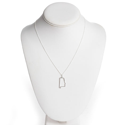 Alabama Outline Necklace