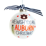 We Wish You an Auburn Christmas Ornament