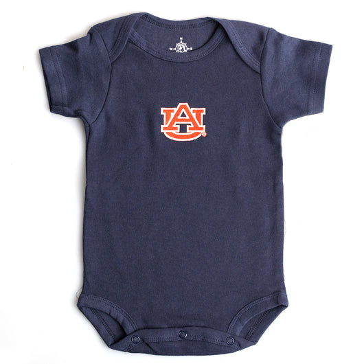 Navy Bodysuit with AU Logo