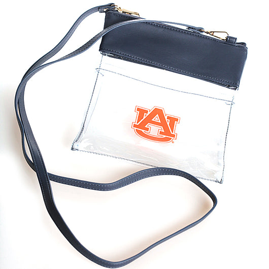 Clear Gameday Crossbody with Logo
