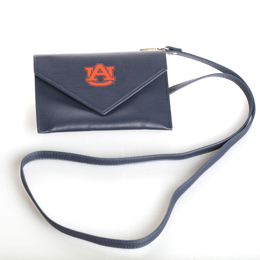 Small Navy Crossbody w/Logo