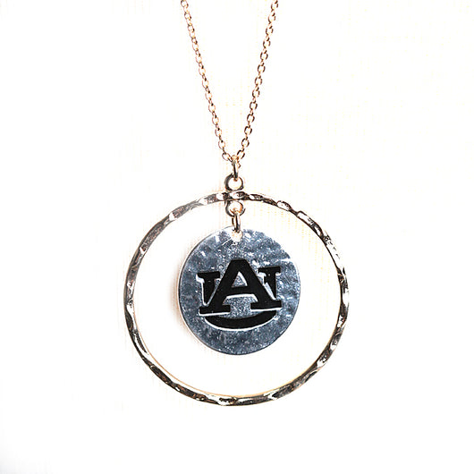 Auburn Gold and Silver Isabella Necklace