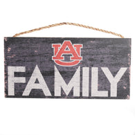 Auburn 6x12 Family Sign