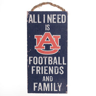 Auburn 12x6 All I Need is…Sign