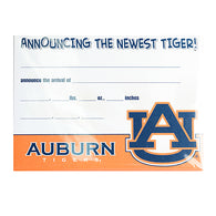 Auburn Birth Announcement Pack