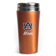 Auburn Mom Orange Rubber Tumbler