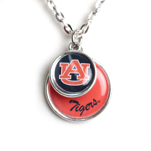 AU Stacked Disc Necklace