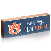 Every Day I Love Auburn Table Topper