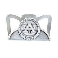Auburn University Pewter Business Card Holder