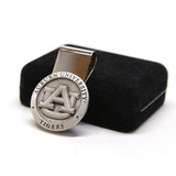 Auburn University Money Clip - Solid Pewter