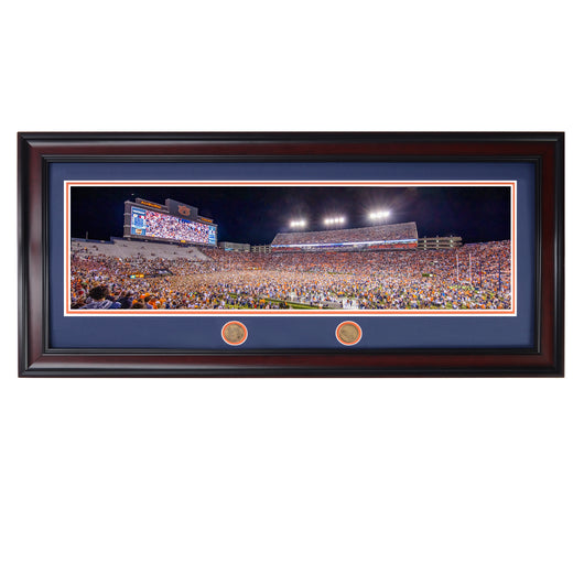 2019 Iron Bowl Rush the Field Panoramic Photo