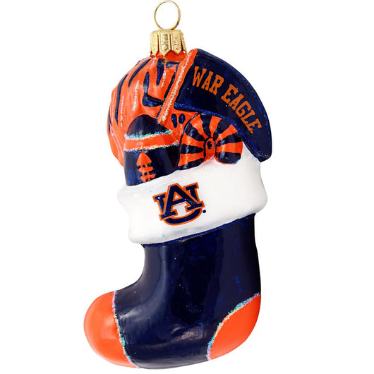 Auburn Collectible Stocking Ornament