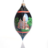 Hand Painted Samford Drop Ornament