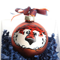 Hand Painted Aubie Ornament