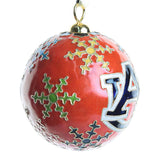 Auburn Multi-Colored Snowflake Cloisonné Ornament