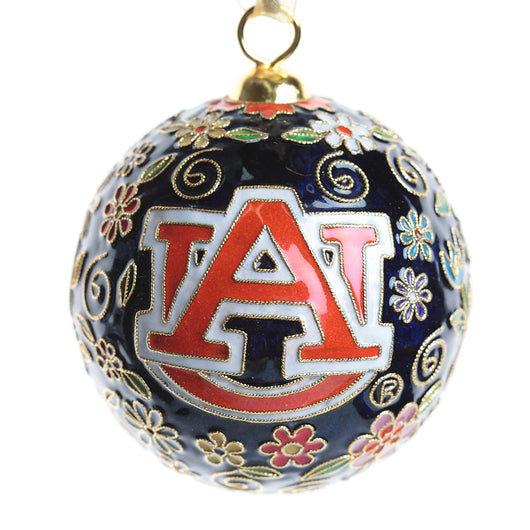Auburn Flower Power Ornament