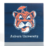 Aubie Face Navy Sign