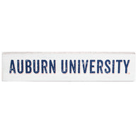 Auburn University White Table Topper